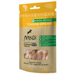 Nandi Karoo Ostrich Tendon Chews - 3.5oz. Bags