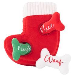 Naughty or Nice Stocking Burrow by Zippy Paws