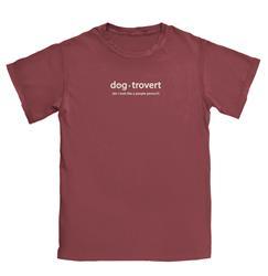 Dog-trovert T-shirt