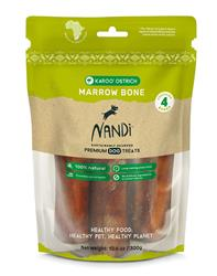 Nandi Karoo Ostrich Marrow Bone (4 bones/pack)