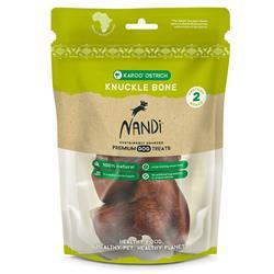 Nandi Karoo Ostrich Knuckle Bone (2 bones/pack)