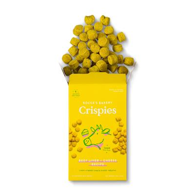 Beef Liver + Cheese Crispies, Mini-Boxes (2oz)