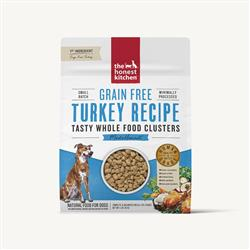 WHOLE FOOD CLUSTERS - GRAIN FREE TURKEY DOG FOOD