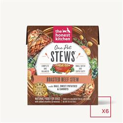 ONE POT STEWS - ROASTED BEEF STEW WITH KALE, SWEET POTATOES & CARROTS (6 x 10.5 oz boxes)