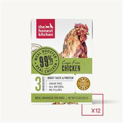 MEAL BOOSTER - 99% CHICKEN (12 x 5.5 oz boxes)