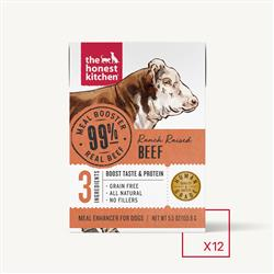MEAL BOOSTER - 99% BEEF (12 x 5.5 oz boxes)