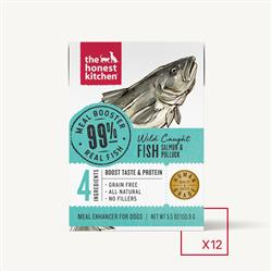 MEAL BOOSTER - 99% SALMON & POLLOCK (12 x 5.5 oz boxes)