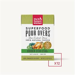 SUPERFOOD POUR OVERS - CHICKEN (12 x 5.5 oz boxes)