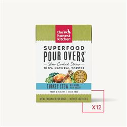 SUPERFOOD POUR OVERS - TURKEY (12 x 5.5 oz boxes)
