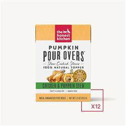 PUMPKIN POUR OVERS - CHICKEN (12 x 5.5 oz boxes)