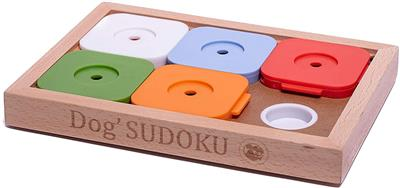 """Dog SUDOKU® Medium """"Advanced"""" Color Puzzle Game - 12 pieces in the master box"""