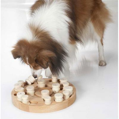 Mandala & Star Double Dog Puzzle Game - single packaging