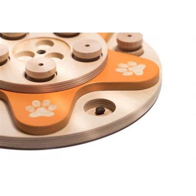 Dog's Flower Puzzle Game - 8 pieces in the master box