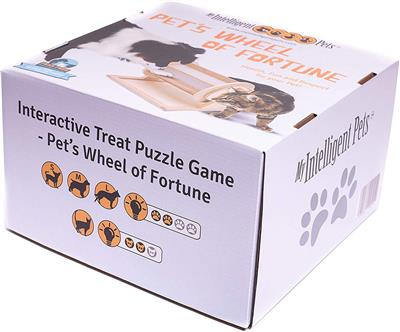 Pet's Fortune Wheel Puzzle Game - single packaging