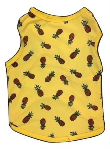 Pineapple Pattern Tank Yellow