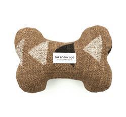 Amani Clay Dog Bone Squeaky Toy