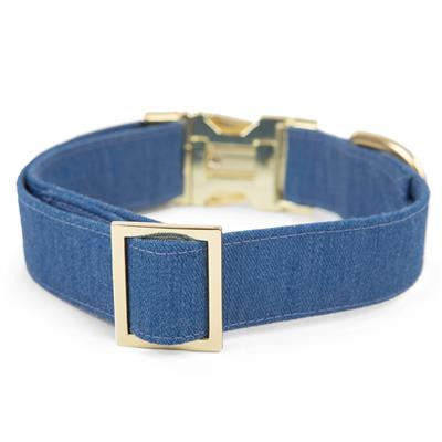 Denim Dog Collar