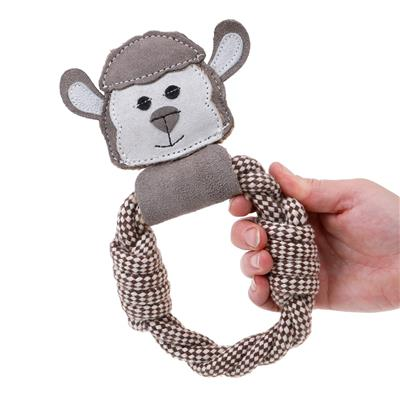Baa Sheep Rope Ring - Country Tails Dog Toy