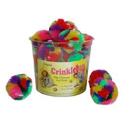 CanCor Tub of Crinkle Balls 24 ct