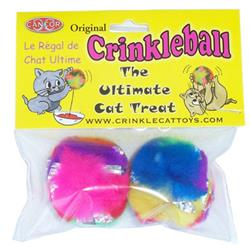CanCor Mini Crinkle Ball Package of 2