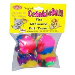 CanCor Mini Crinkle Ball Pack of 4