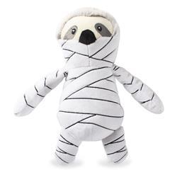 Mummy Sloth Plush Dog Toy