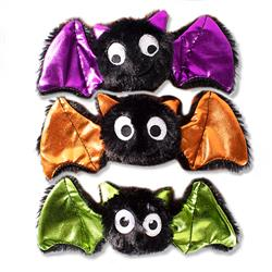 Bats Bats Bats Small Plush Dog Toys - Set Of 3