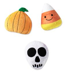 Scary Cute Small Plush Dog Toys - Set Of 3