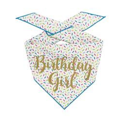 Birthday Girl Dog Birthday    Birthday Dog Bandana   Happy Birthday Bandana