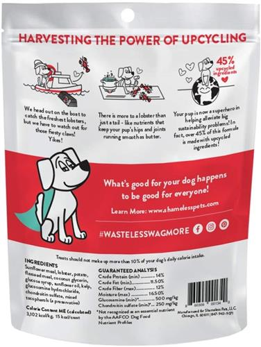 SHAMELESS PETS, All-Natural, Soft-Baked, Sustainable, Grain Free Dog Treats I Made in USA, 6 Ounce