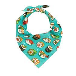 Sushi Dog Bandana   Food Dog Tie Bandana   