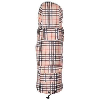 Tan Plaid London Raincoat