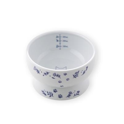 Raised Cat Water Bowl (Nordic Blue Limited Edition)