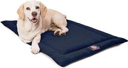 Navy Blue Villa Crate Dog Bed Mat