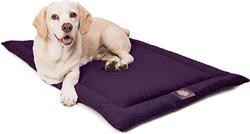 Aubergine Purple Villa Crate Dog Bed Mat