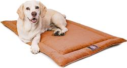Orange Villa Crate Dog Bed Mat