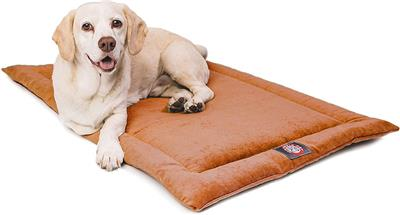 Orange Villa Crate Dog Bed Mat