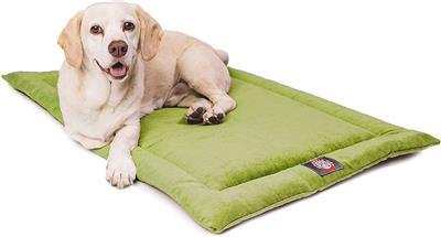 Apple Green Villa Crate Dog Bed Mat