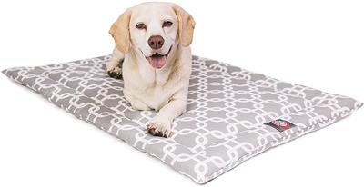 Grey Links Crate Dog Bed Mat