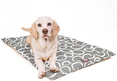 Grey Fusion Crate Dog Bed Mat