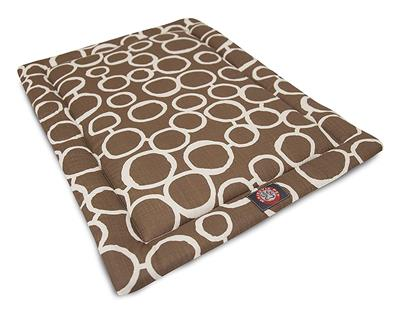 Mocha Brown Fusion Crate Dog Bed Mat