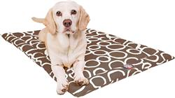 Mocha Brown Fusion Crate Dog Bed Mat