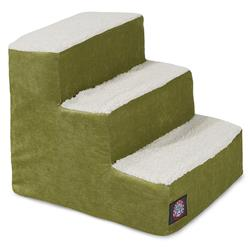 Apple Green Villa Pet Stairs (3 Steps)