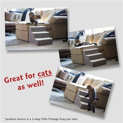 Grey Links Pet Stairs (3 Steps)