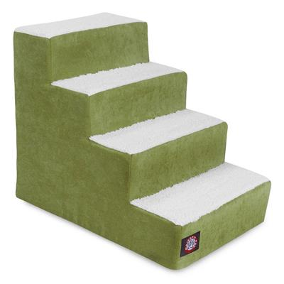 Apple Green Villa Pet Stairs (4 Steps)