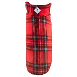 Red Tartan Fargo Fleece Reversible Jacket