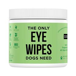 Dog Eye Wipes, 100 count Jar