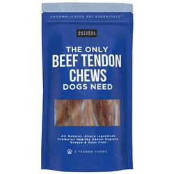 Beef Tendon Chews, 5 count Bag