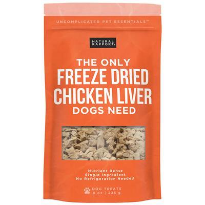 Freeze Dried Chicken Liver, 8oz. Bag