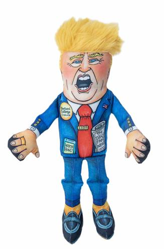 """Special Edition Donald Small Dog Toy - 12"""" Presidential Parody"""